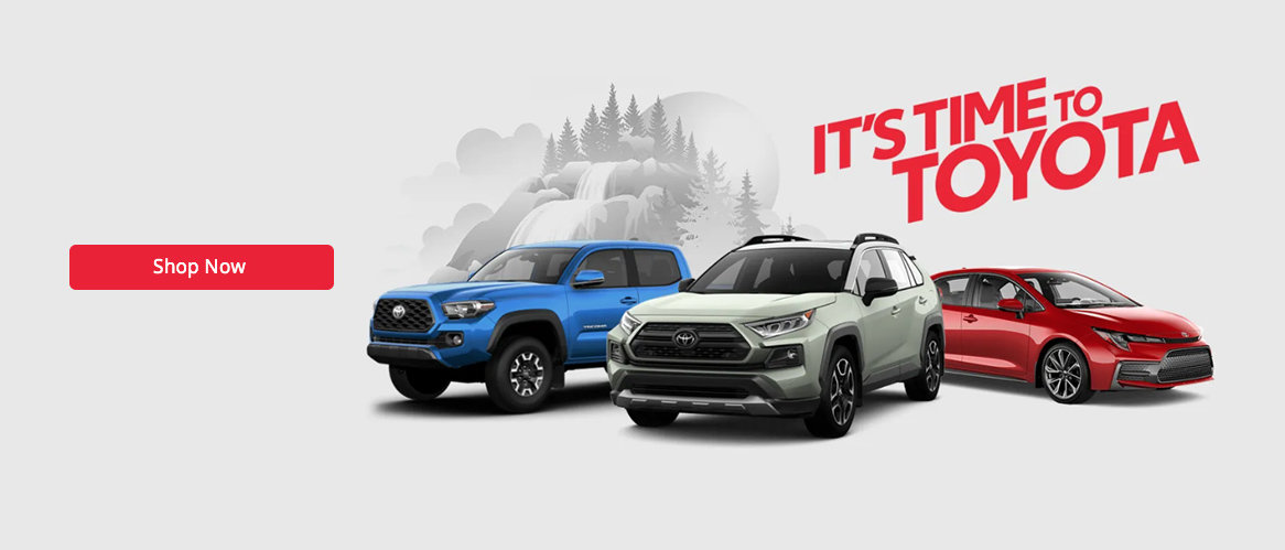 January Toyota offer