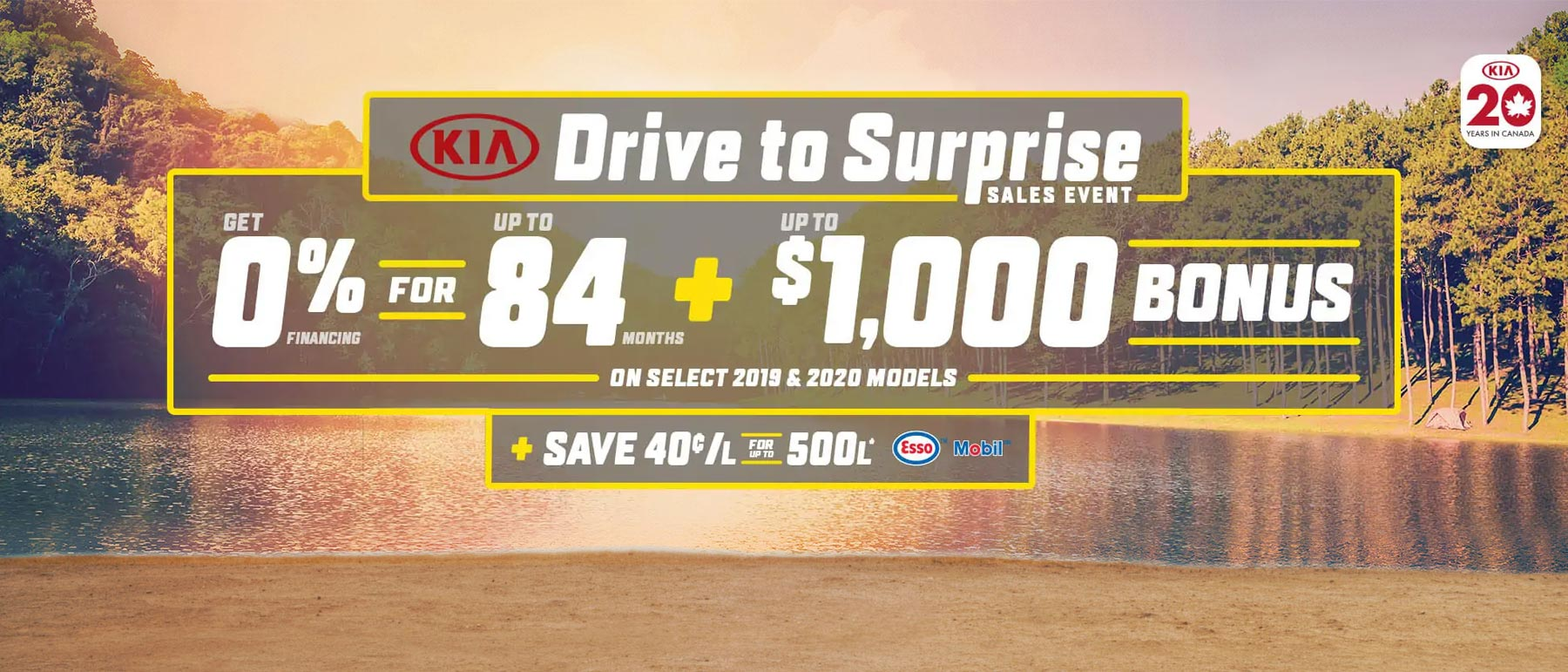 Kia July 2019 Incentive Offer