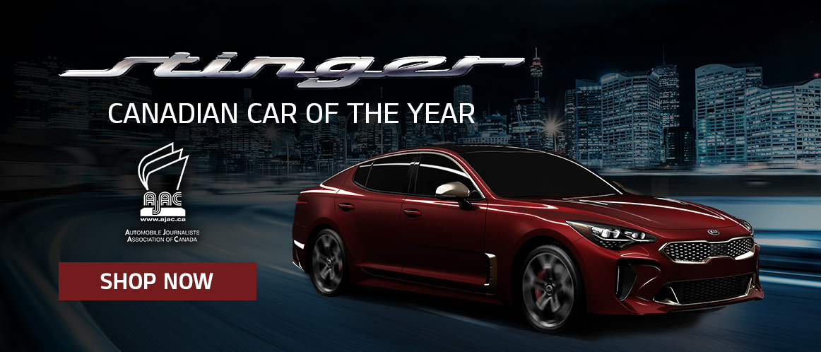 2019 Kia Stinger Car of the Year slide