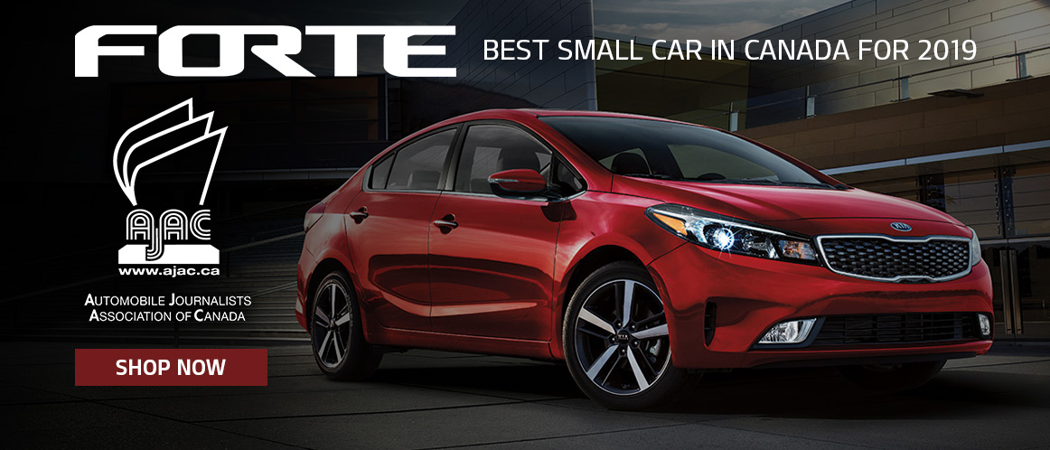2019 Kia Forte best small car in Canada