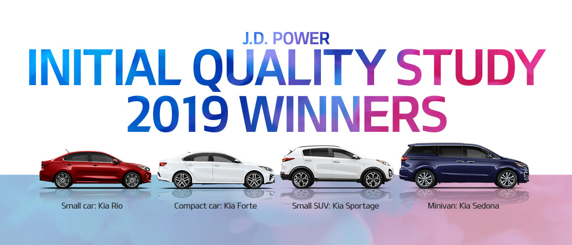 Kia JD Power Awards Slide