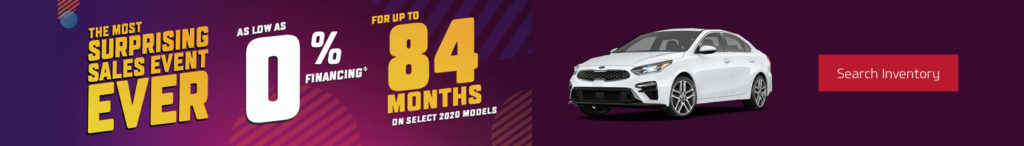 March 2020 Kia Incentive