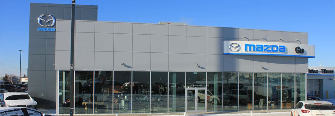 Go Mazda Dealership Exterior