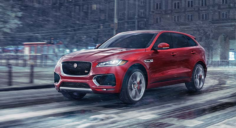 F-PACE winter