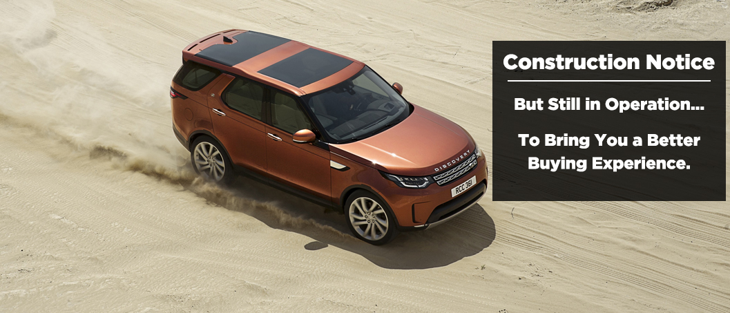 Land Rover Construction Notice
