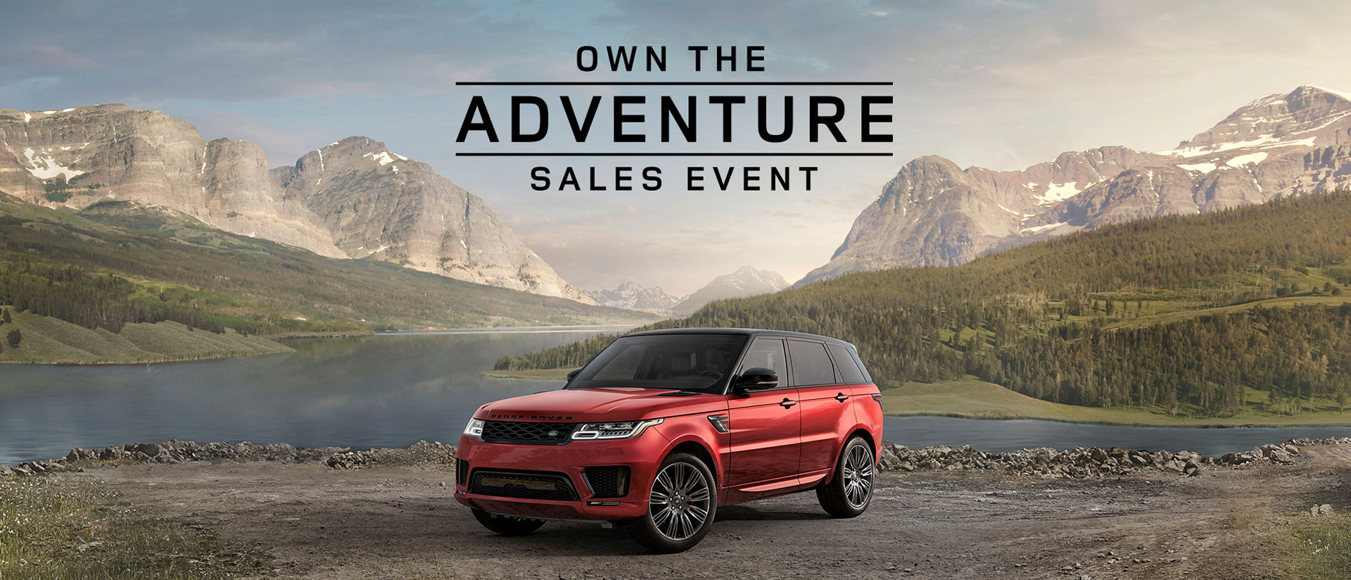 Own The Adventure Slider