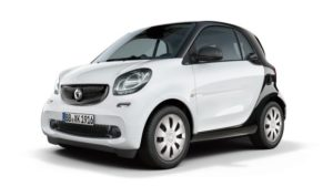 2016 smart fortwo pure model