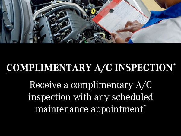 Complimentary AC Inspection