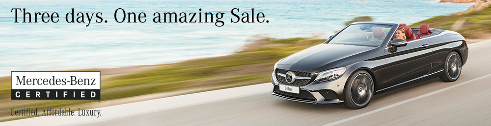 Mercedes-Benz Certified Pre-Owned Sale | for 3 Days only! From June 13th, 14th and 15th.