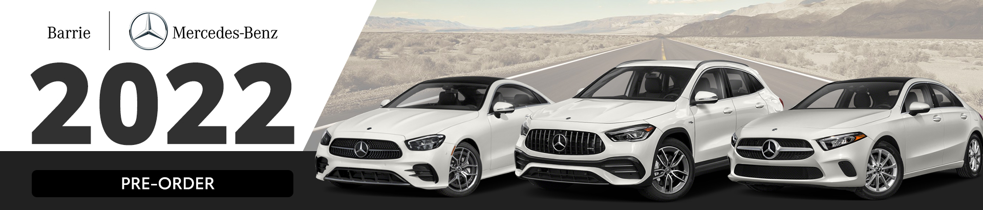 Pre-Order Your 2022 Mercedes-Benz Today