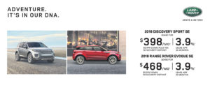 Land Rover Discovery Sport/ Evoque Pricing