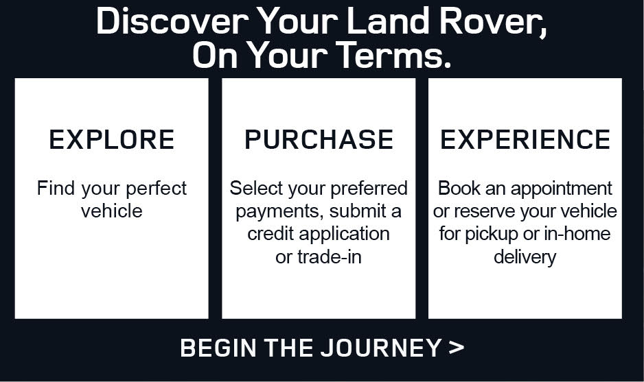Land Rover Mobile Banner