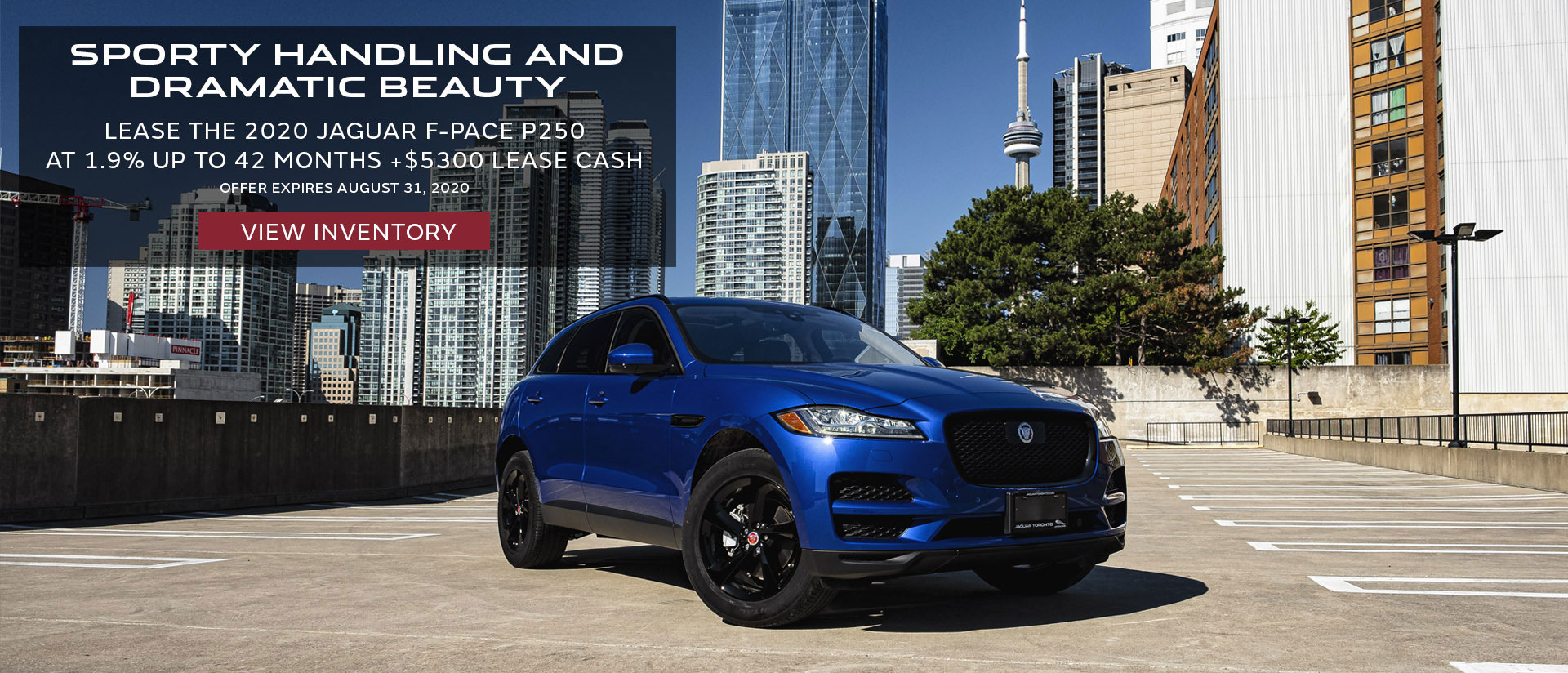 Jaguar F Pace Lease Finance Offer Toronto