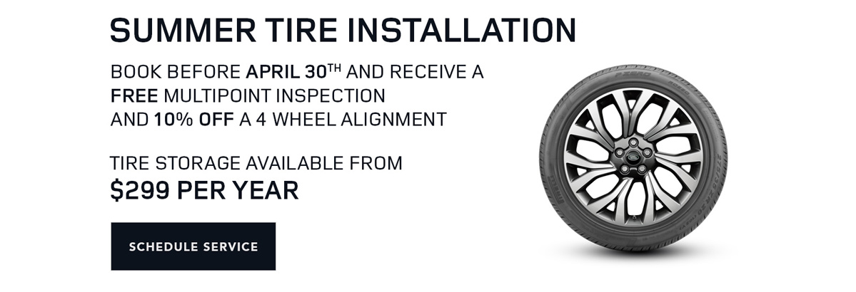 Summer Tire Installation