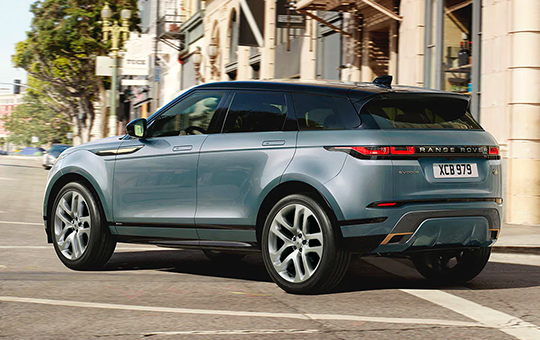 City Driving Evoque