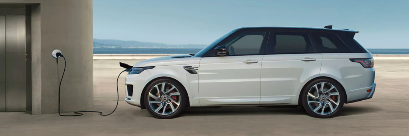 2020 Range Rover PHEV utilizing wall charger
