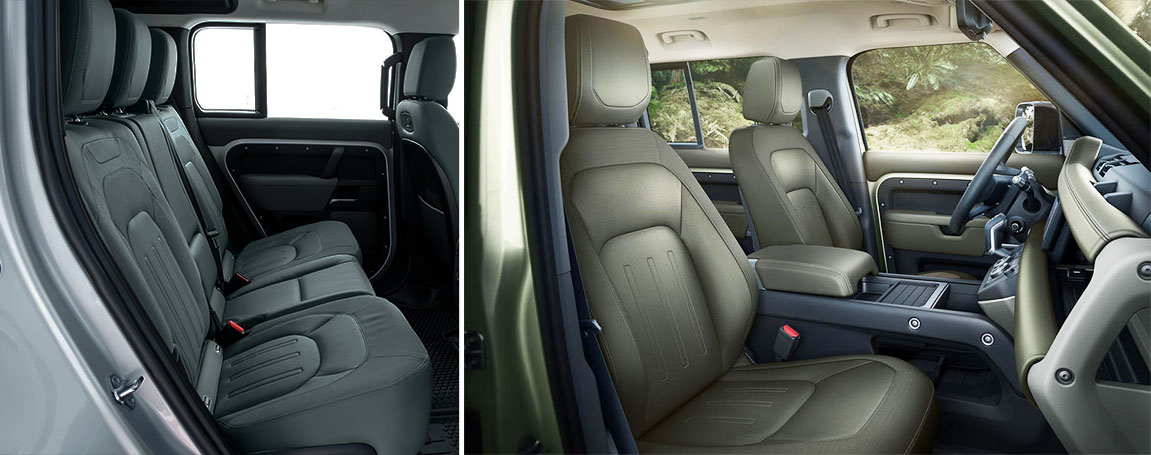 2020 LAND ROVER DEFENDER | Interior Style and cabin seats