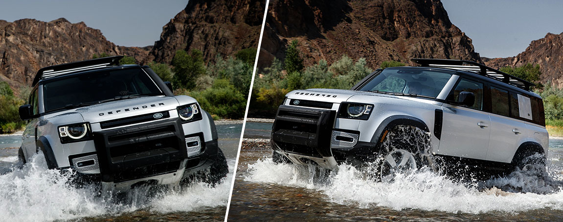 2020 LAND ROVER DEFENDER   Power and Performance