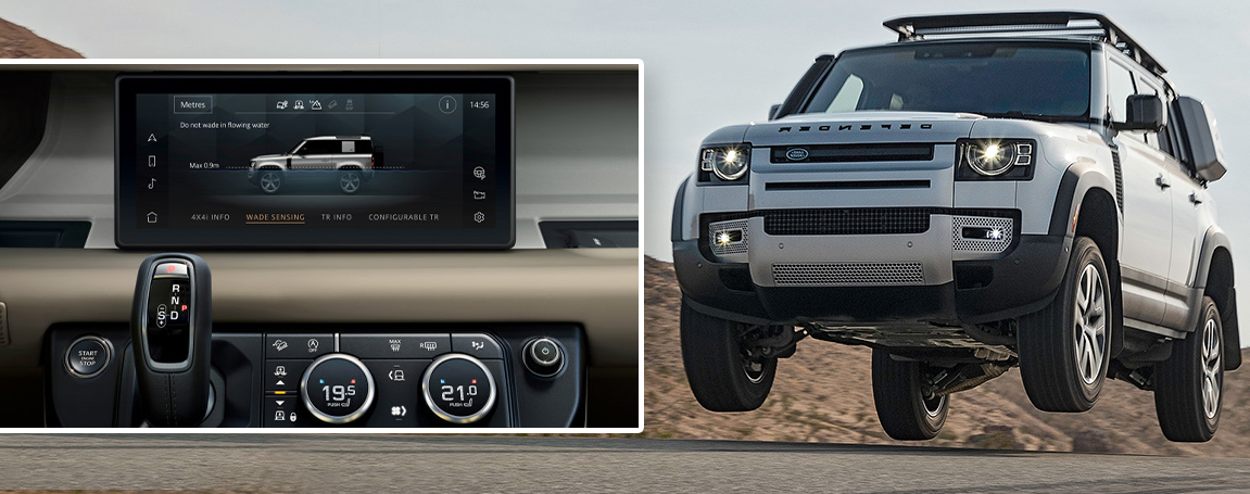 2020 LAND ROVER DEFENDER | Safety Features| Infotainment