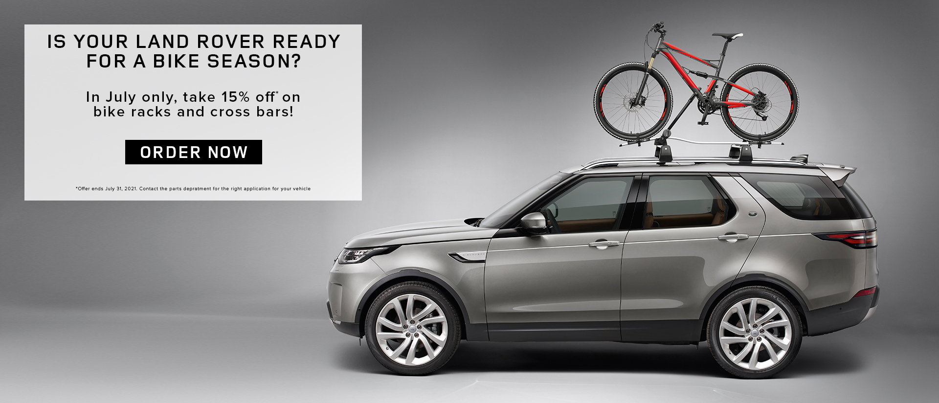 Land Rover Parts Promo (july 2021)