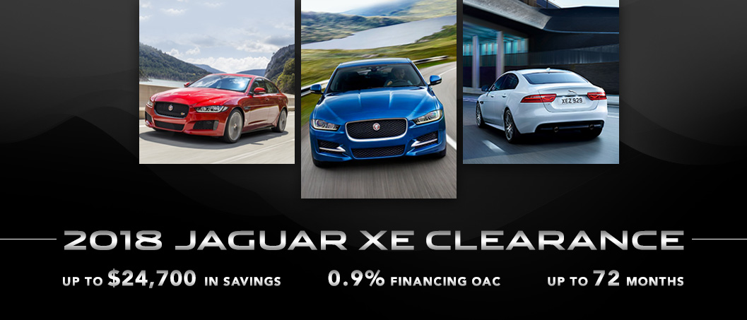 Winnipeg Jaguar XE Clearance