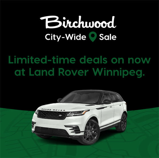 Land Rover City Wide Sale Banner