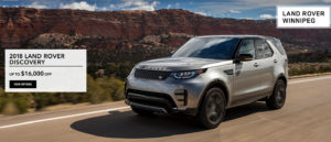 Winnipeg Land Rover Discovery