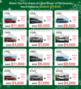 Land Rover of Richmond in Metro Vancouver, Luxury car dealership
