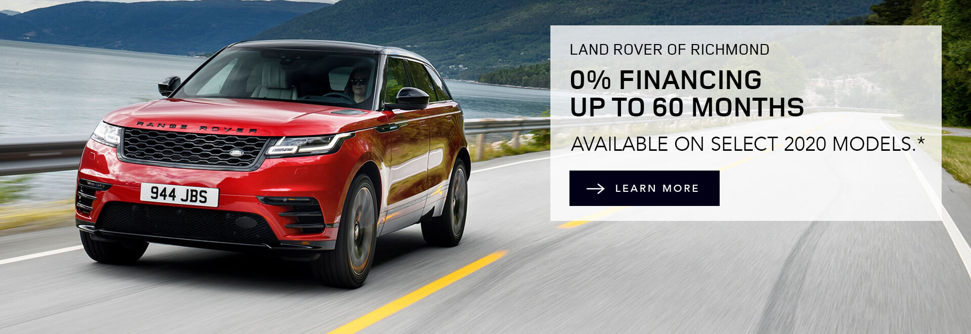 Land Rover of Richmond 0% Finance Offer