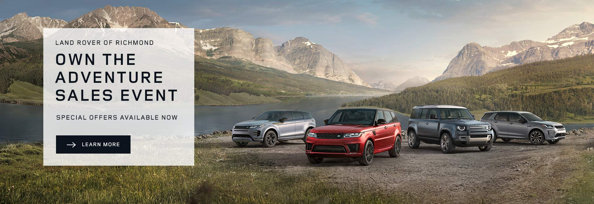 Land Rover of Richmond - Own The Adventure Sale Event