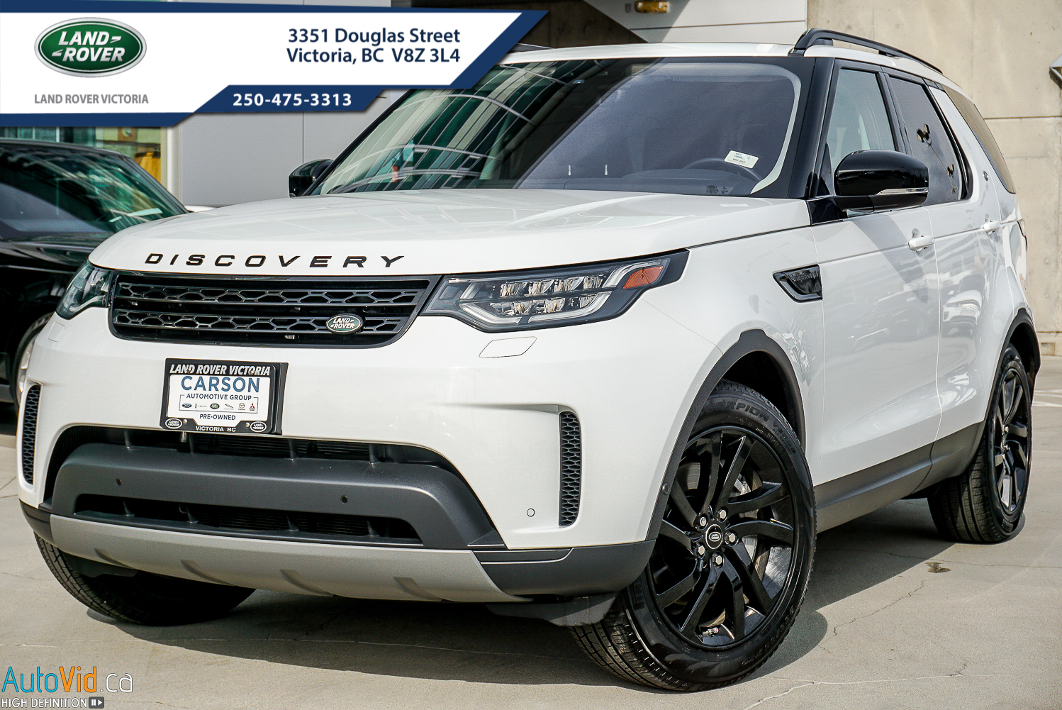 9lr402325 2019 Land Rover Discovery Se White 01 127 27