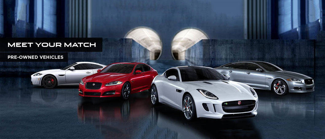 Jaguar Pre-owned Vehicles