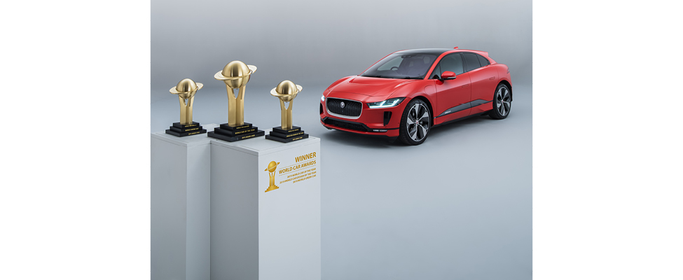 The I-Pace is the first model to ever win three World Car titles: World Car of the Year, World Car Design of the Year, and World Green Car.