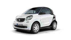 smart fortwo pure model
