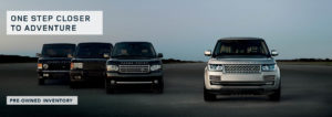 Land Rover Pre-owned Vehicles