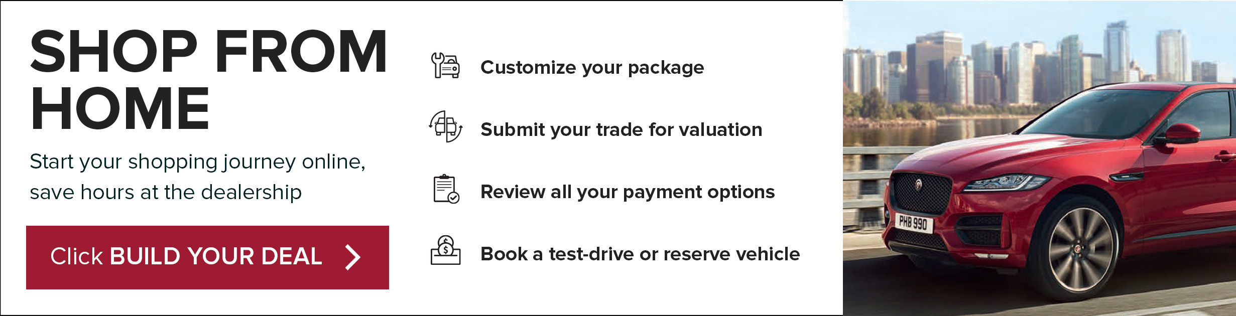 Easier Way To Buy At Jaguar Waterloo