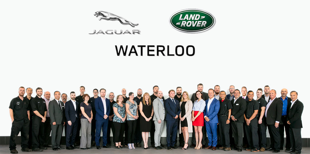 Group Photo of JLR Team at Waterloo