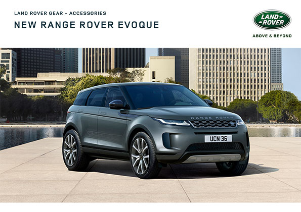Range Rover Evoque Accessories Cover