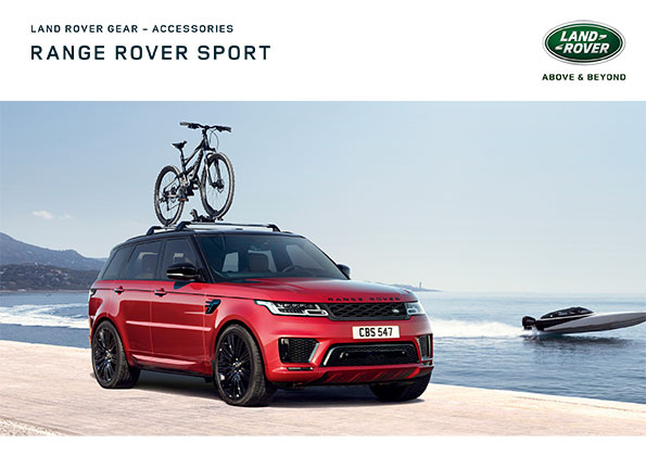 Range Rover Sport Accessories Cover