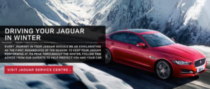 Driving Your Jaguar In Winter
