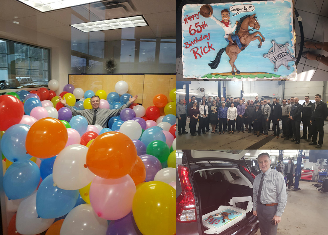 Happy 65th Birthday to Rich Jaeger - Fixed Operations Manager at Kelowna Mercedes-Benz