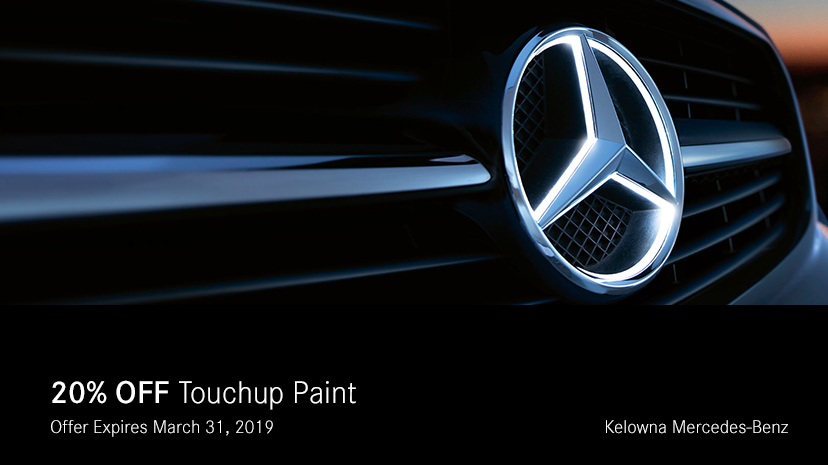 20% Off Touchup Paint
