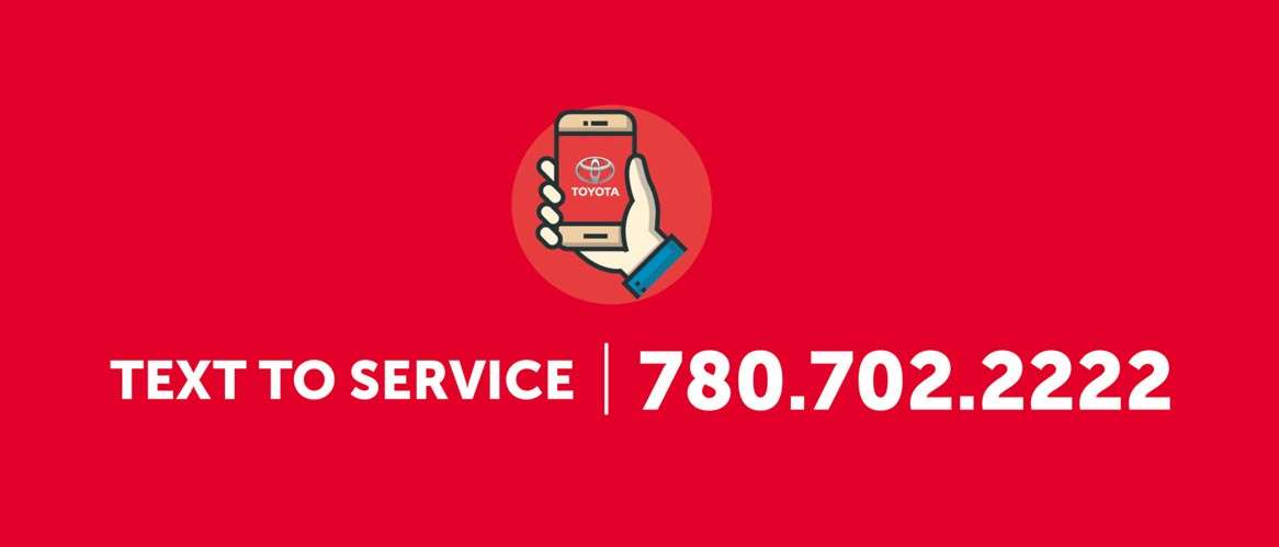 Text Service at Drayton Valley Toyota