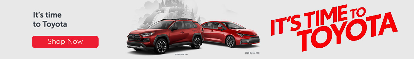 Toyota on the Trail July Offer Its Time To Toyota