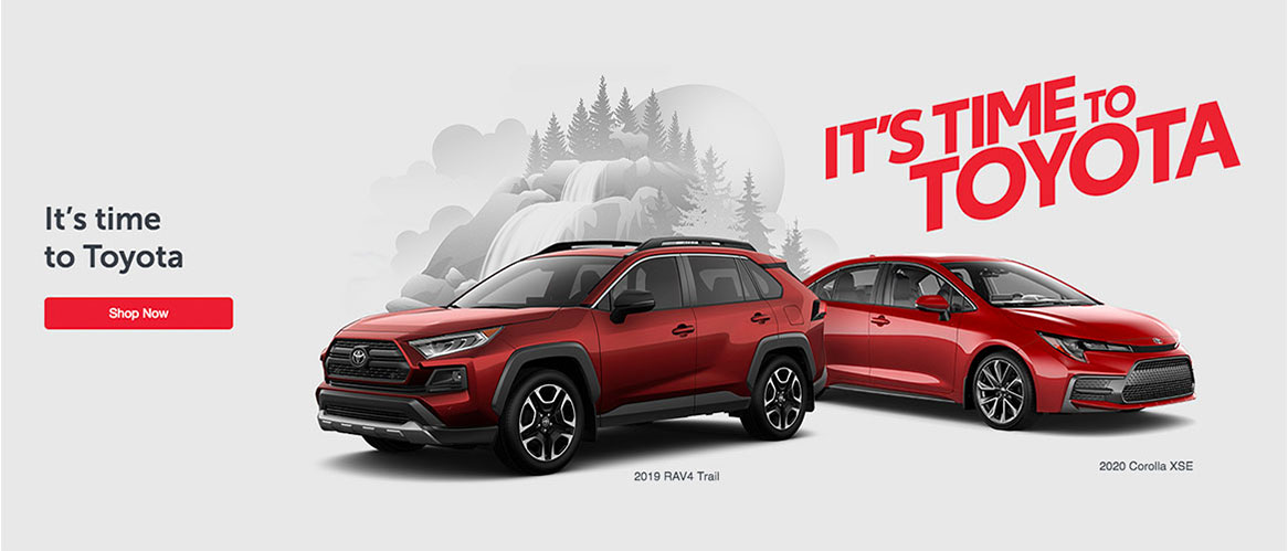Toyota on The Trail July Offer 2019 Its Time To Toyota