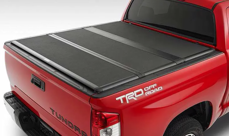 Toyota Tundra with Tonneau Cover Accessory
