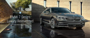 BMW 7 Series. Luxury Reinvented.