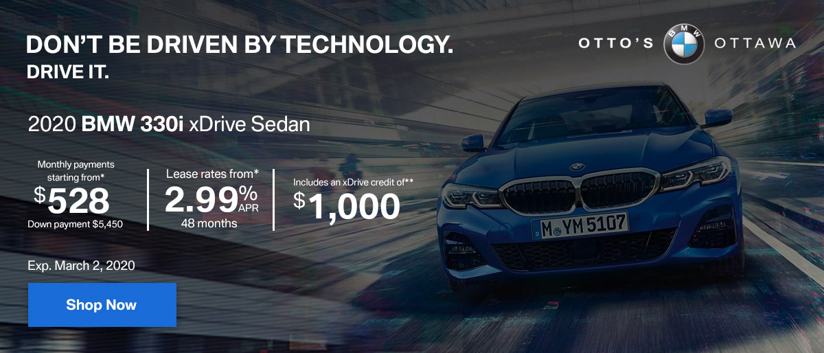 Bmw 330i Otto Feb2020 Offers Slides
