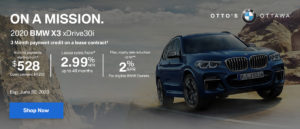 X3 Drive30i Special Offer