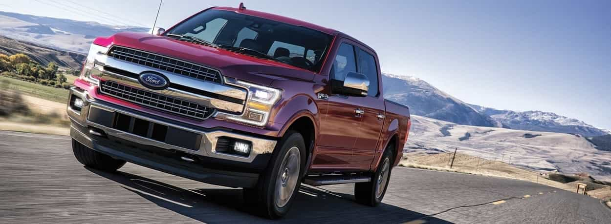 2019 F-150 LARIAT SuperCrew in Ruby Red